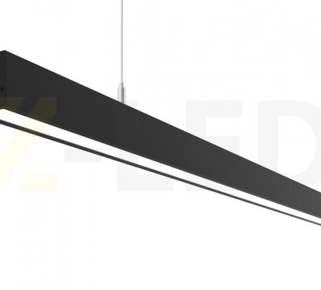 Линейный светодиодный светильник Z-LED 70ВТ черный (1416x40x40) LSN-70b
