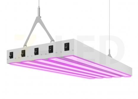 ПОДВЕСНОЙ СВЕТОДИОДНЫЙ ФИТОСВЕТИЛЬНИК Z-LED 150ВТ (600x240x40)