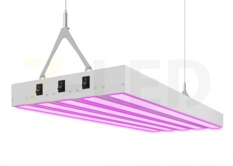 Подвесной светодиодный фитосветильник Z-LED 100ВТ (400x240x40) LFS-100