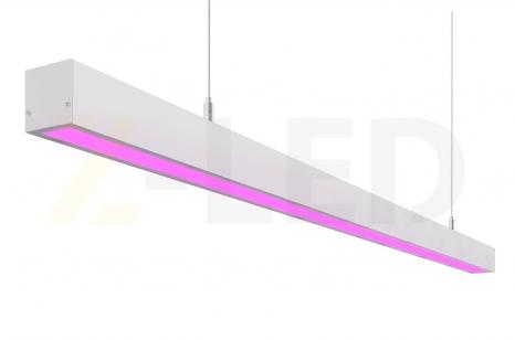 Подвесной светодиодный фитосветильник Z-LED 70Вт (1416x40x40)