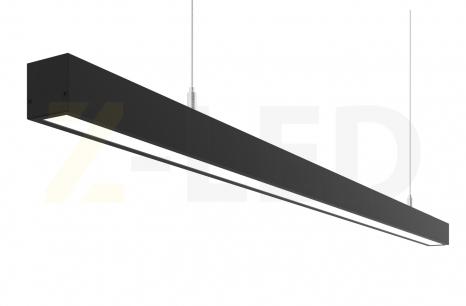 ЛИНЕЙНЫЙ СВЕТОДИОДНЫЙ СВЕТИЛЬНИК Z-LED 150ВТ ЧЕРНЫЙ (2987x40x40)