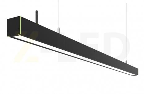 Диммируемый линейный светодиодный светильник Z-LED 50Вт черный (980x42x43)