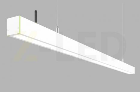 Диммируемый линейный светодиодный светильник Z-LED 70Вт белый (1416x42x43)