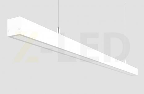 ЛИНЕЙНЫЙ СВЕТОДИОДНЫЙ СВЕТИЛЬНИК Z-LED 100ВТ БЕЛЫЙ (2015x40x40)