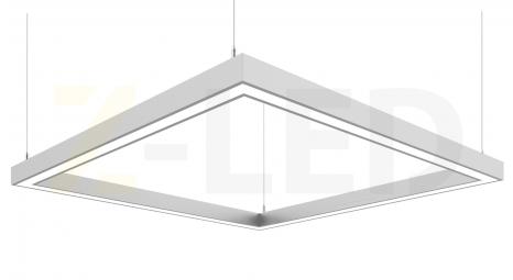 СВЕТОДИОДНЫЙ СВЕТИЛЬНИК Z-LED 80ВТ КВАДРАТ (400x400)