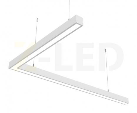 Светодиодный светильник  Z-LED 80ВТ L-образный (1000х600) LSNL-80