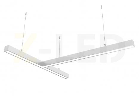 Светодиодный светильник  Z-LED 80ВТ Т-образный (800х800) LSNT-80