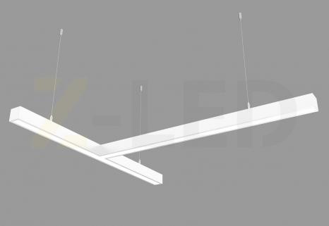 Светодиодный светильник  Z-LED 80ВТ Т-образный белый (800х800) LSNT-80w