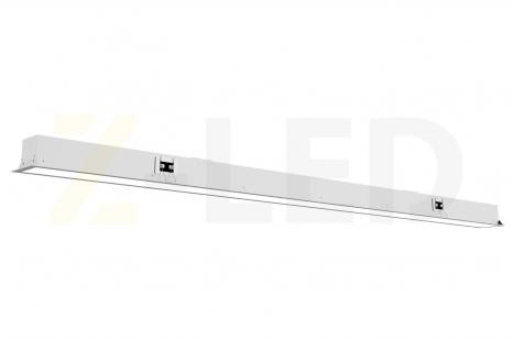 Встраиваемый диммируемый линейный светильник Z-LED 100ВТ белый VLS-100dw