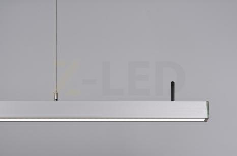 Диммируемый линейный светодиодный светильник 70Вт (1416x42x43)
