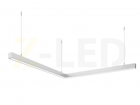 Светодиодный светильник  Z-LED 80ВТ угол (800х800) LSNU-80