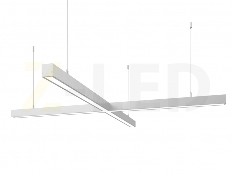 Светодиодный светильник  Z-LED 80ВТ x-образный (крест) (800х800) LSNKr-80