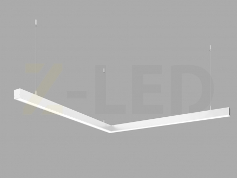Светодиодный светильник  Z-LED 80ВТ угол белый (800х800) LSNU-80w