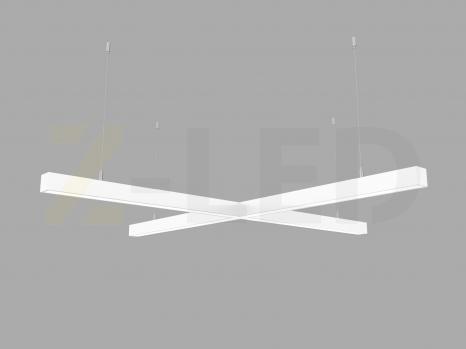 Светодиодный светильник  Z-LED 80Вт x-образный (крест) белый (800х800) LSNKr-80w