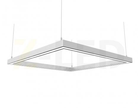 Светодиодный светильник Z-LED 160Вт квадрат (840x840) LSNK-160