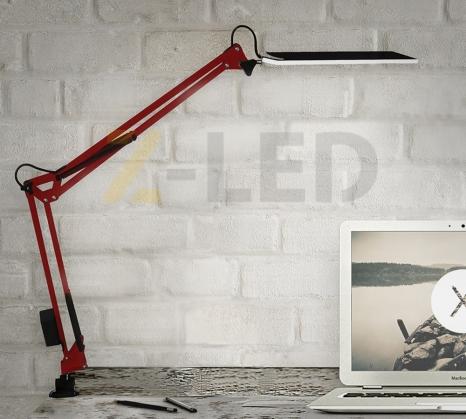 Настольная светодиодная LED лампа Z-LED 10Вт Красная