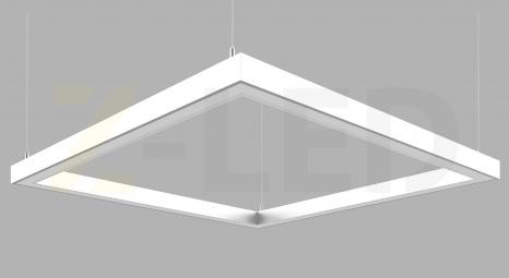 СВЕТОДИОДНЫЙ СВЕТИЛЬНИК Z-LED 80ВТ КВАДРАТ БЕЛЫЙ (400x400)