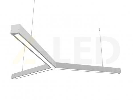 Светодиодный светильник  Z-LED 90ВТ Y-образный (3x600) LSNY-90
