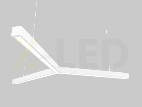 Светодиодный светильник  Z-LED 90ВТ Y-образный белый (3x600) LSNY-90b
